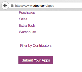 Submit your Apps & Themes on Odoo Apps Store     Synconics