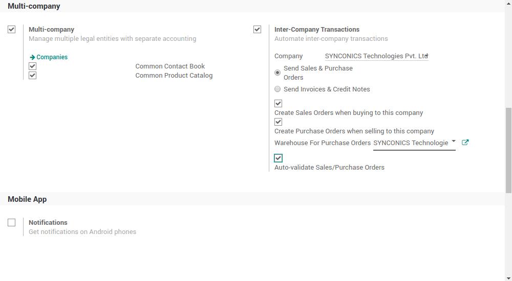 MULTI COMPANY ACCOUNT Synconics Technologies Pvt Ltd - Invoice software multiple companies