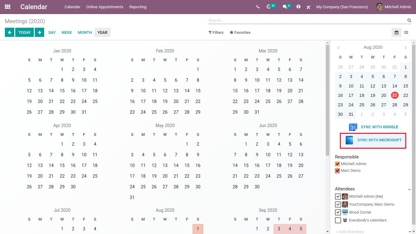 Calendar sync with Microsoft-min